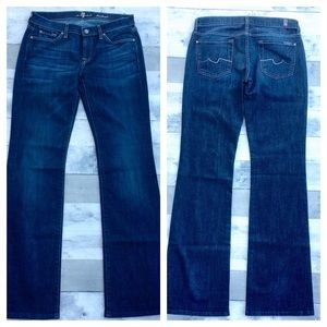 NWT-7 For All Mankind boot cut jeans